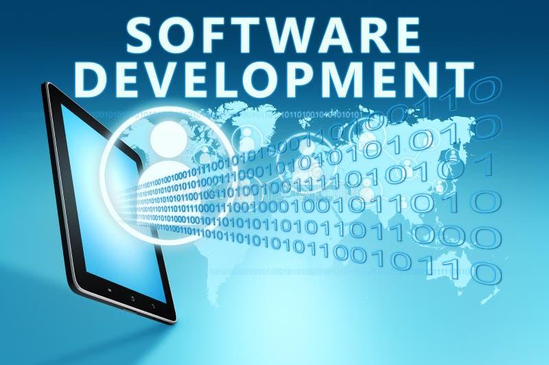 Software Development stock illustration