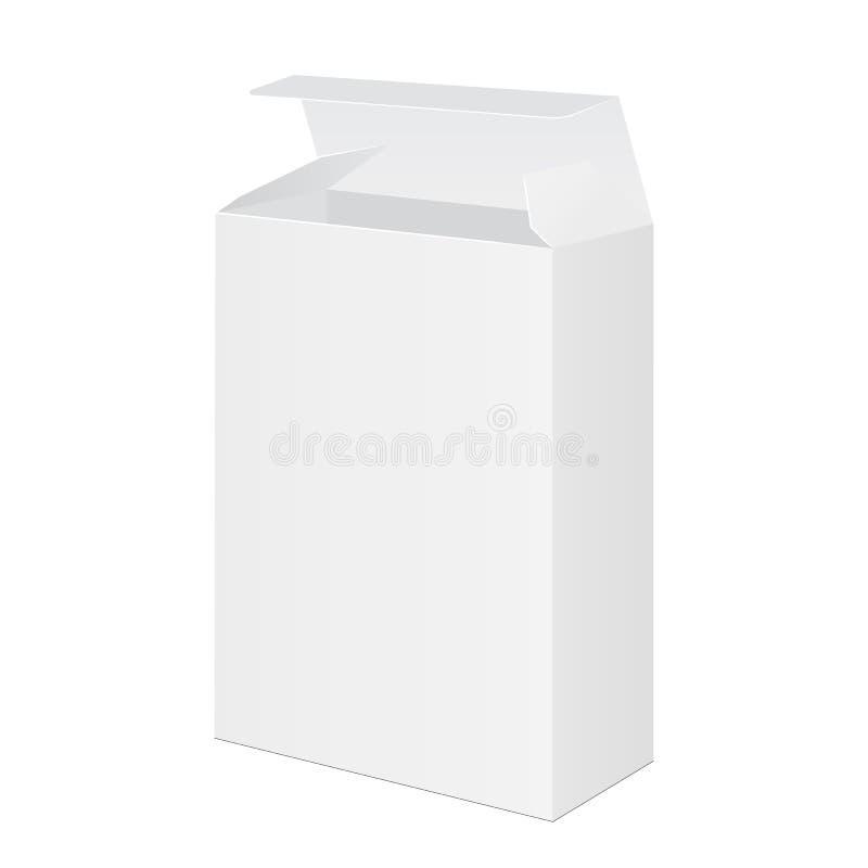 Software packaging box vector illustration