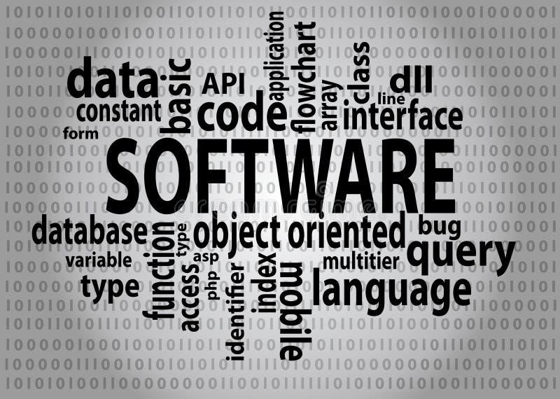 Software-Tags lizenzfreie abbildung
