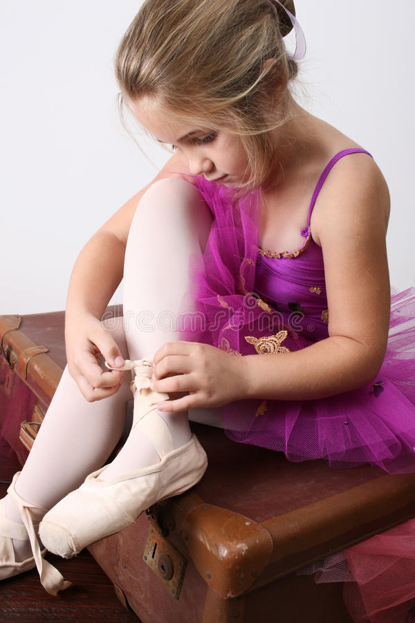 Sognatore della ballerina immagine stock libera da diritti