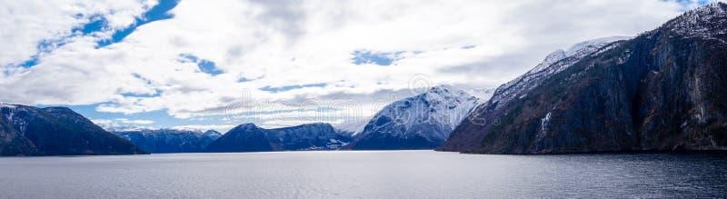 Sognefjord em Noruega fotos de stock royalty free