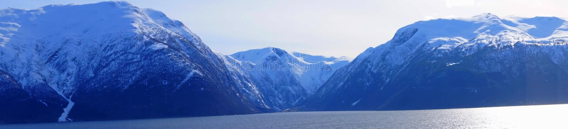 Sognefjord em Noruega foto de stock royalty free