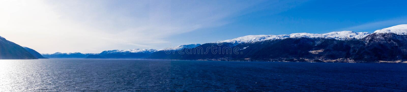 Sognefjord em Noruega imagem de stock royalty free