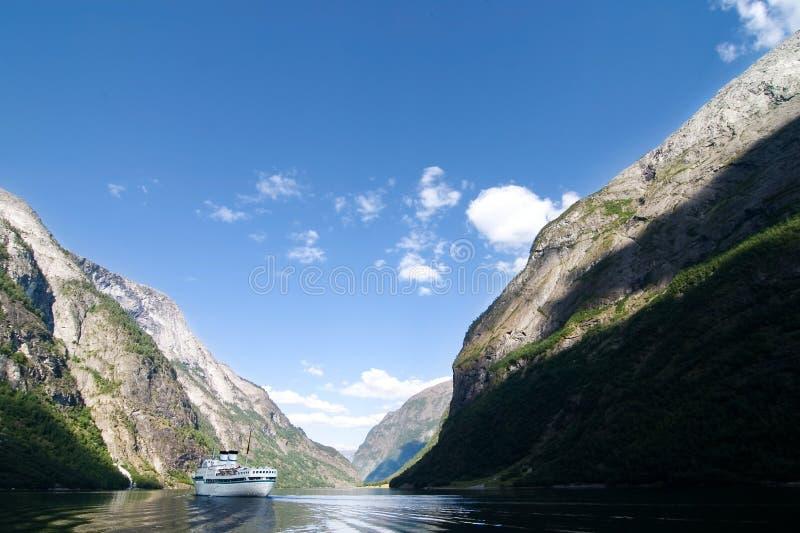 Sognefjord Noorwegen stock foto's