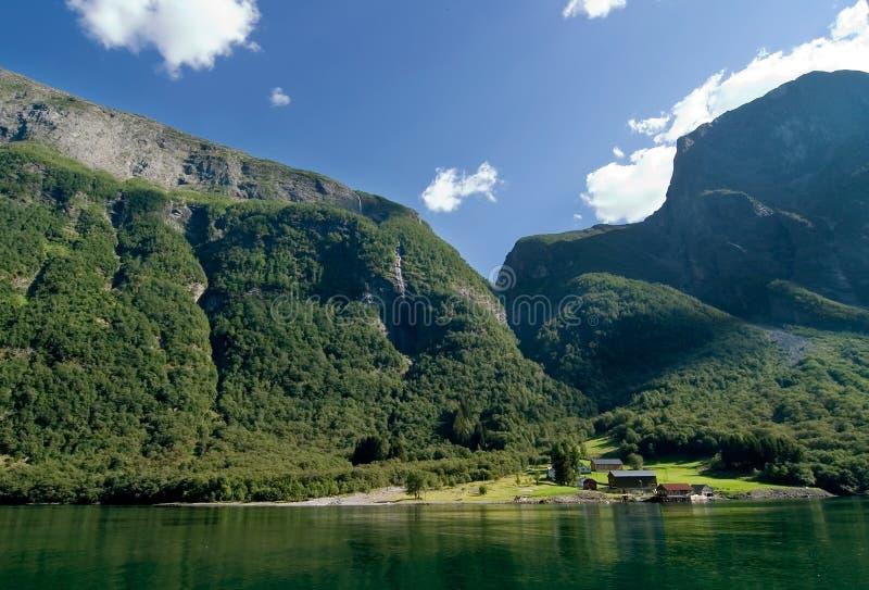 Sognefjord Norwegen lizenzfreie stockfotografie