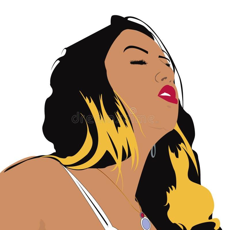 Download Sogni illustrazione di stock. Illustrazione di modo, ragazza - 215962