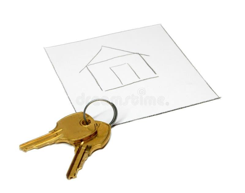 Sogni circa la casa immagini stock libere da diritti