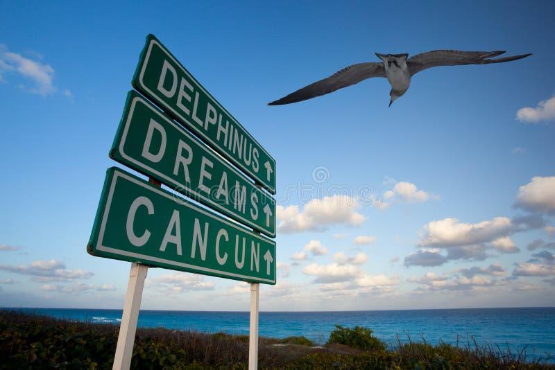 Sogni del Cancun fotografie stock