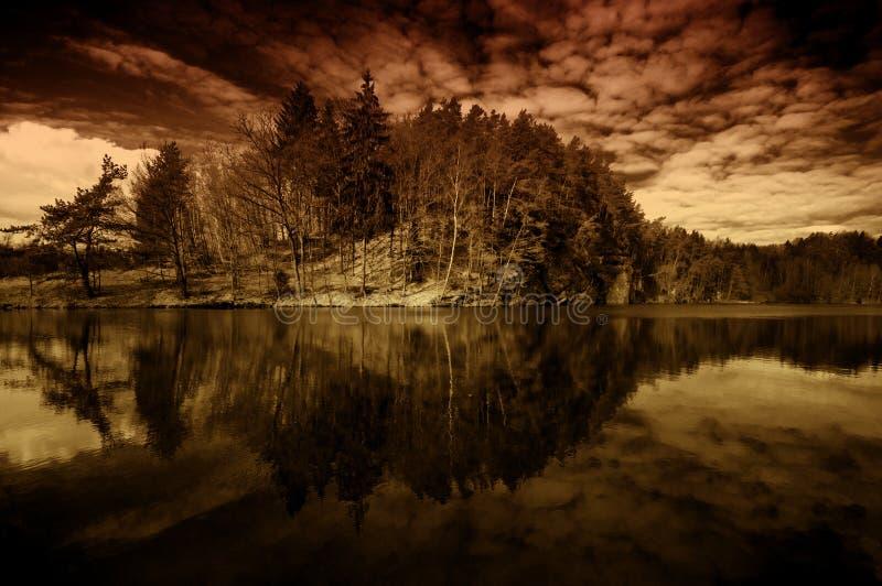 Sogni dell'isola fotografia stock