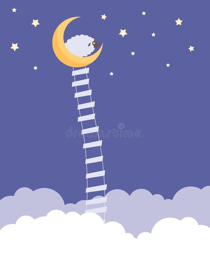 Sogni dolci illustrazione di stock