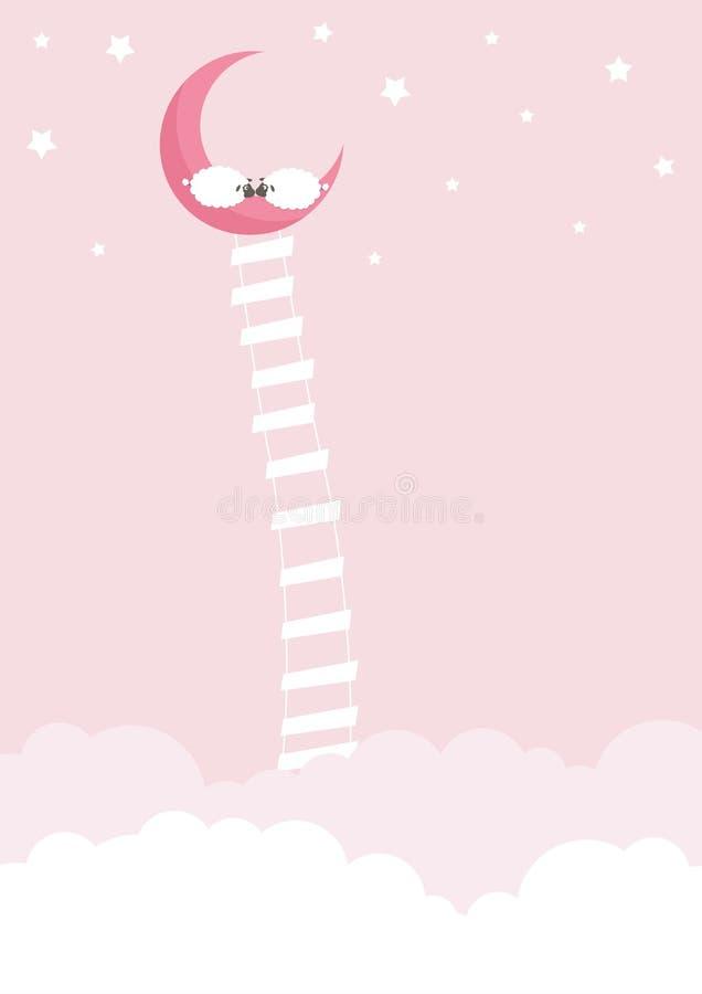 Sogni dolci illustrazione vettoriale