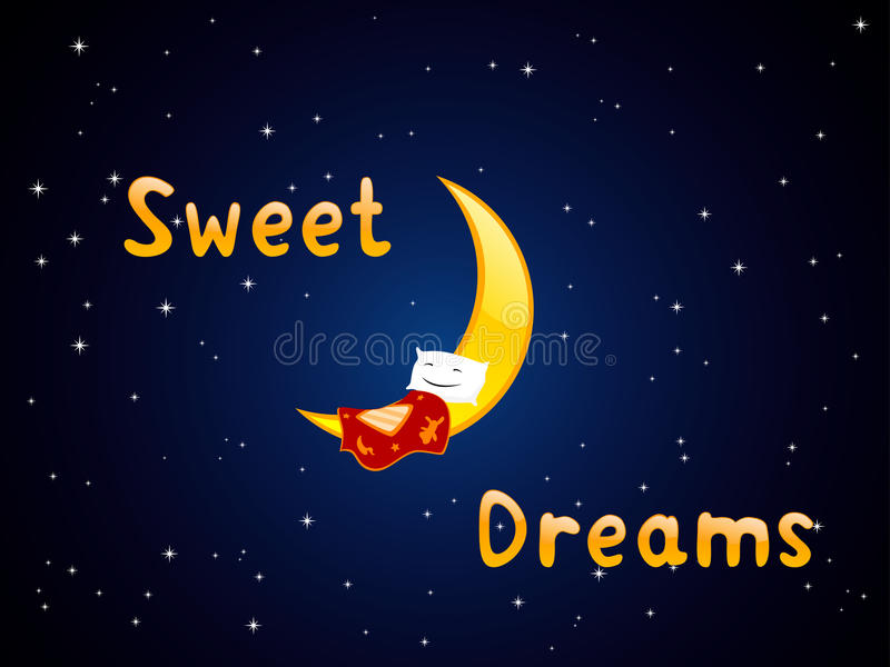 Sogni dolci royalty illustrazione gratis