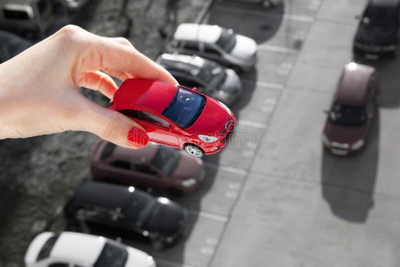 Sogni per avere un'automobile fotografia stock libera da diritti