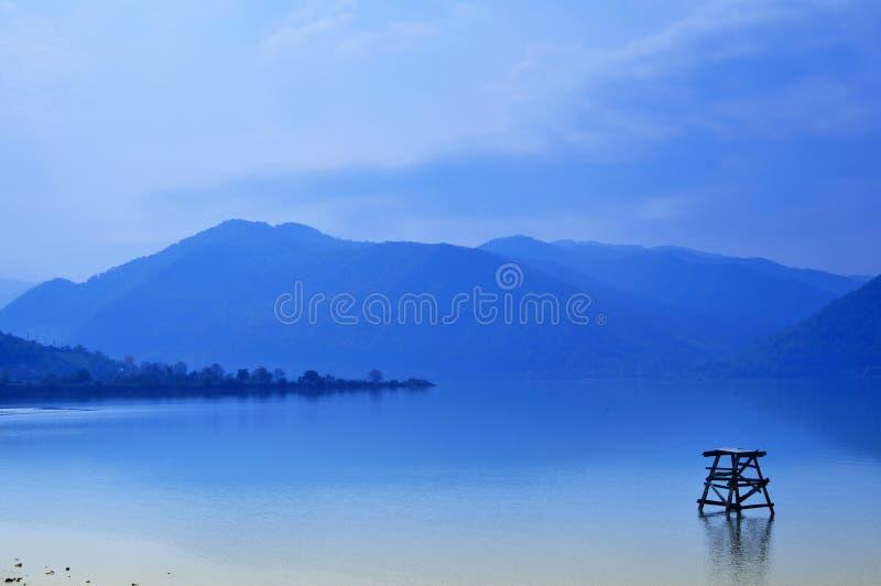Sogno blu fotografia stock