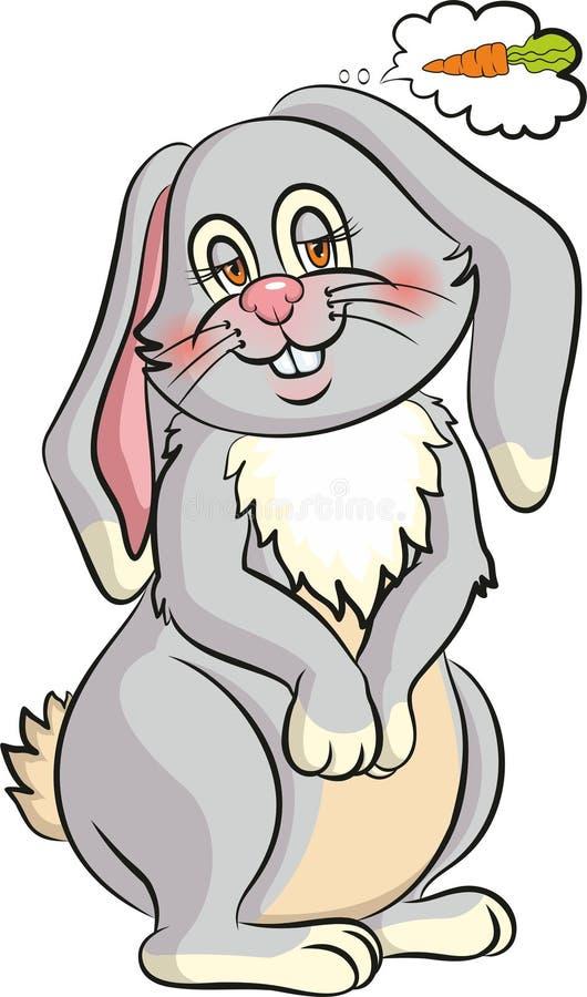 Sogno del coniglietto fotografie stock