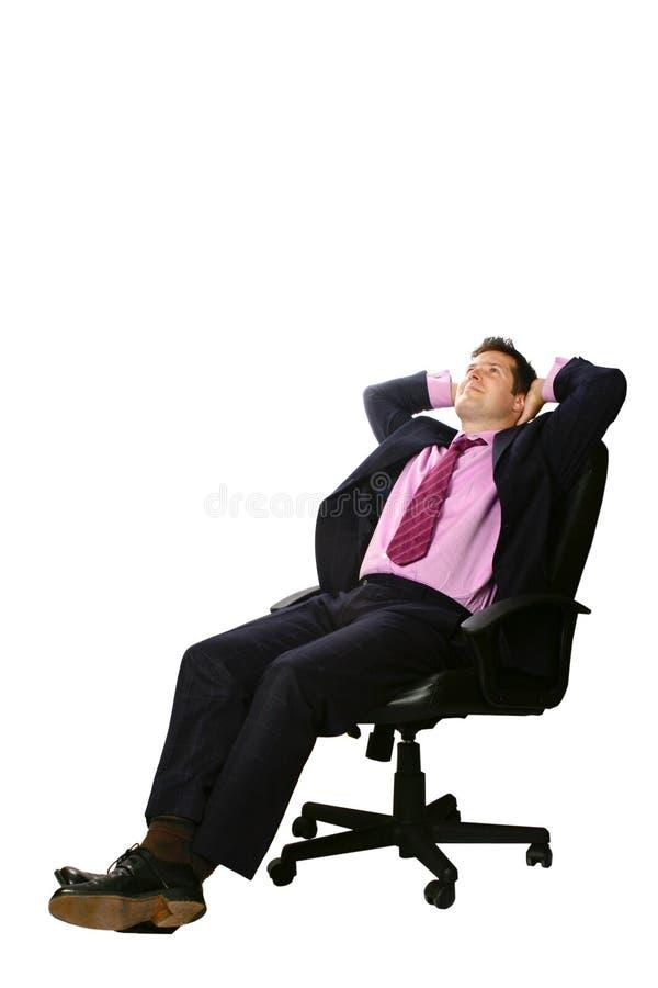 Sogno dell'uomo d'affari immagini stock