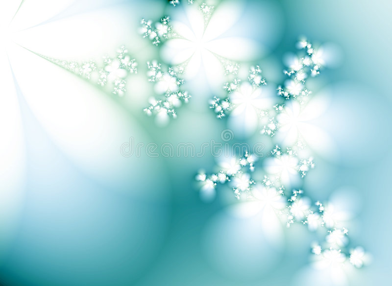 Sogno di inverno illustrazione di stock