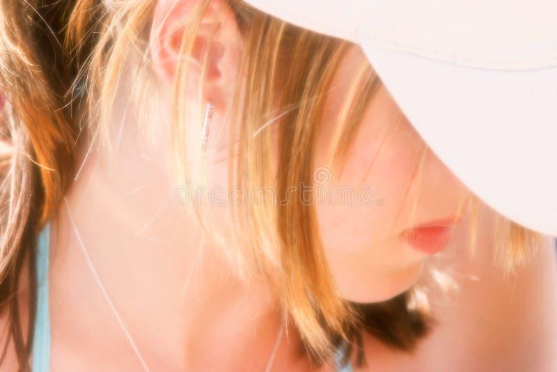Sogno femminile fotografia stock