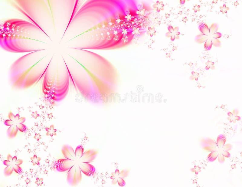 Sogno floreale illustrazione di stock