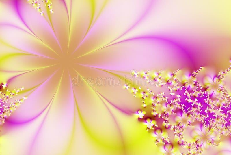 Sogno floreale illustrazione vettoriale