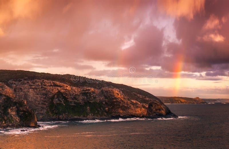 Sogno lunatico dell'arcobaleno fotografie stock libere da diritti