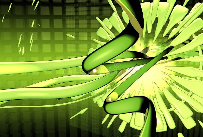Download Sogno verde illustrazione di stock. Illustrazione di cerchi - 220335