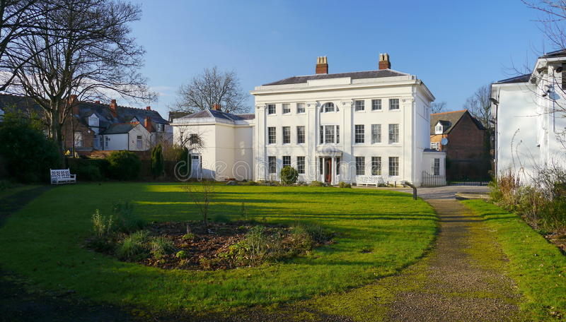 Soho hus, Birmingham, UK royaltyfri fotografi