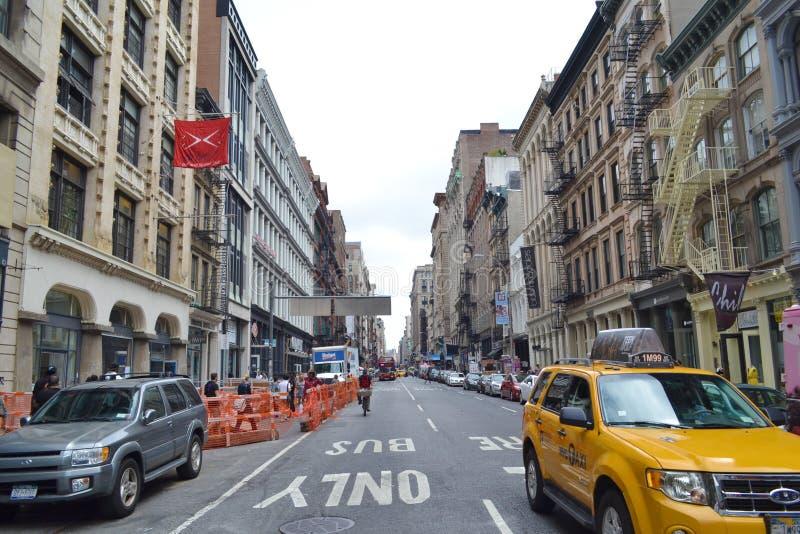 SoHo i New York City arkivfoto
