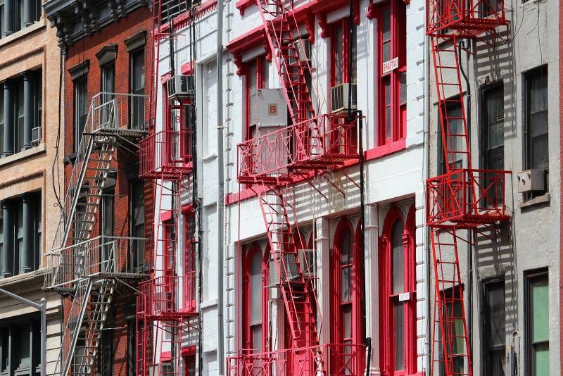 Soho New York fotografering för bildbyråer