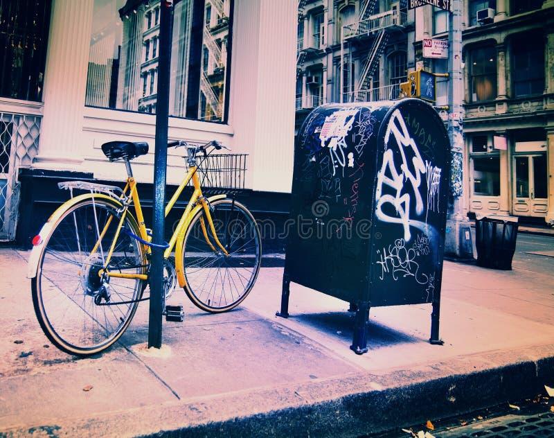Soho, New York Street Scene royalty free stock photos