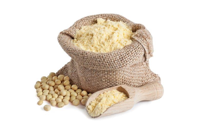 Soi mąka w małej torbie obraz royalty free