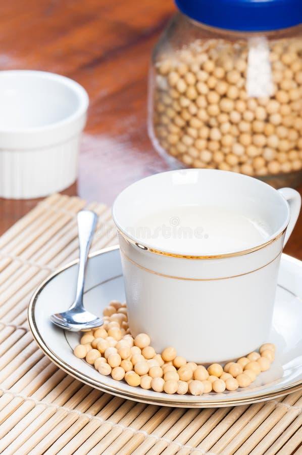 Soi mleko obrazy stock