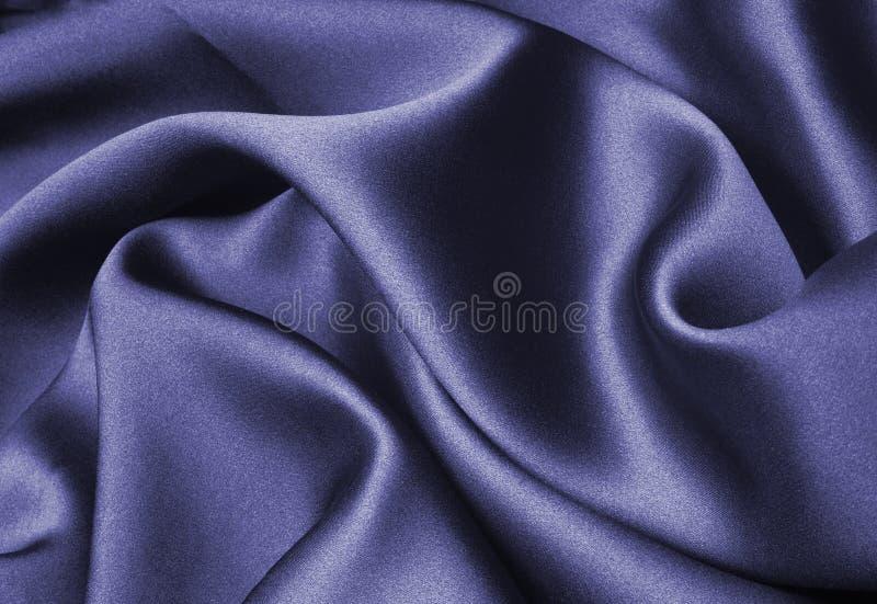 Soie bleue photos stock