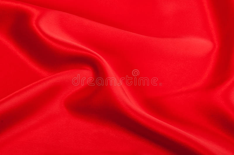 Soie rouge image stock