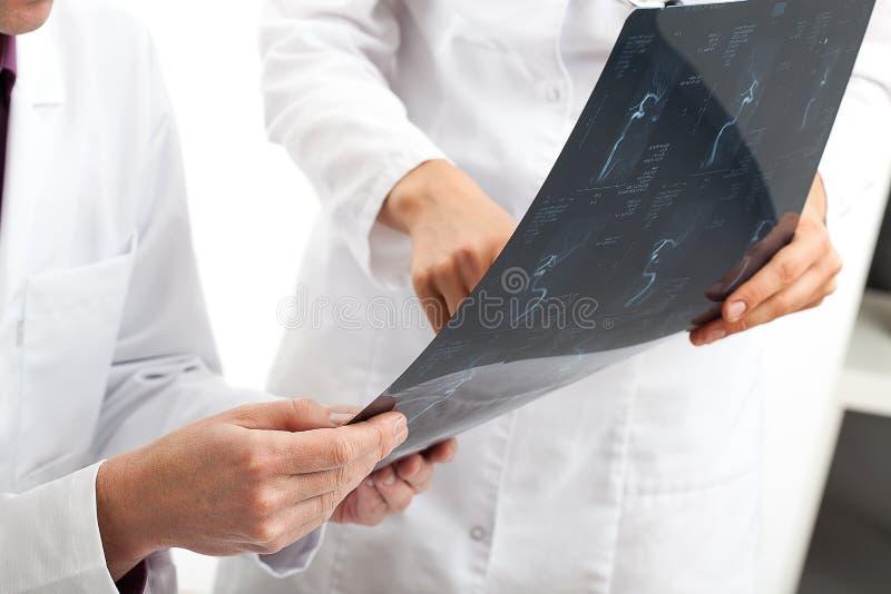 Soigne la réunion médicale photographie stock