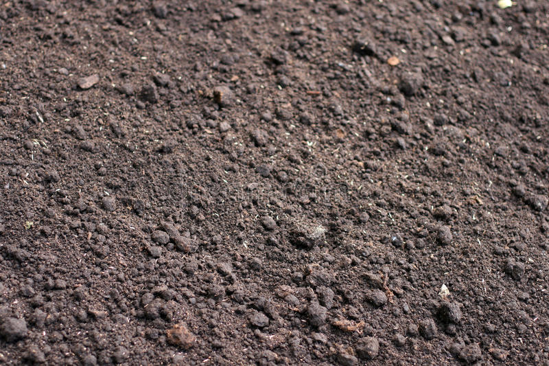 Soil. As a natural background stock image