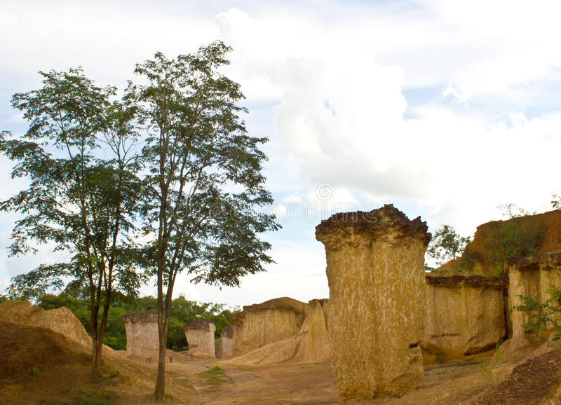 Download Soil Columns In National Park Stock Photo - Image: 26630570