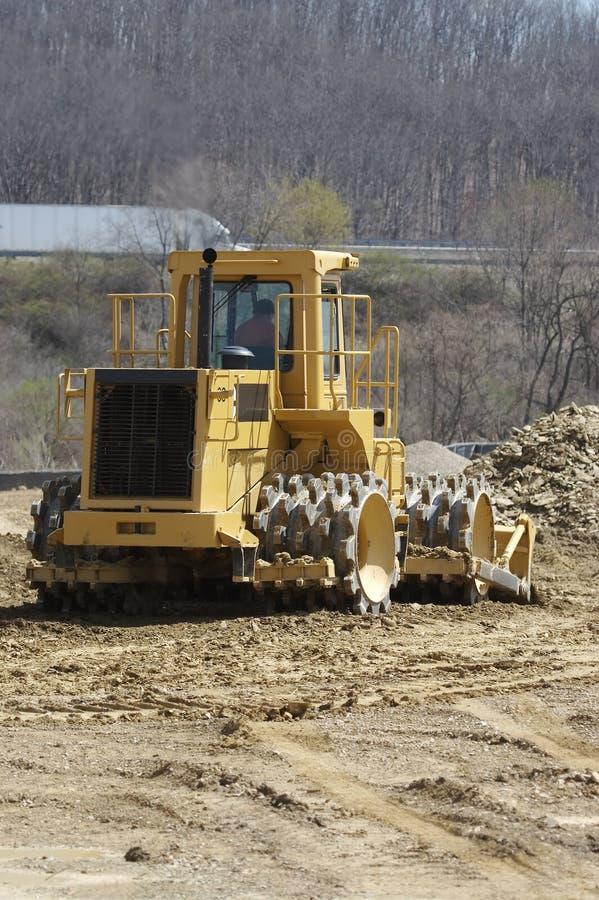 Free Soil Compactor Stock Photos - 711313