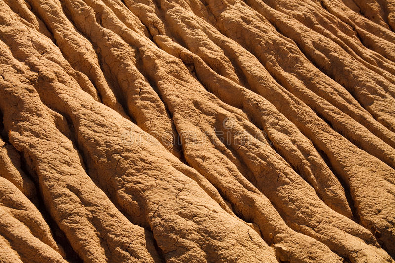 Soil Erosion Pattern royalty free stock images