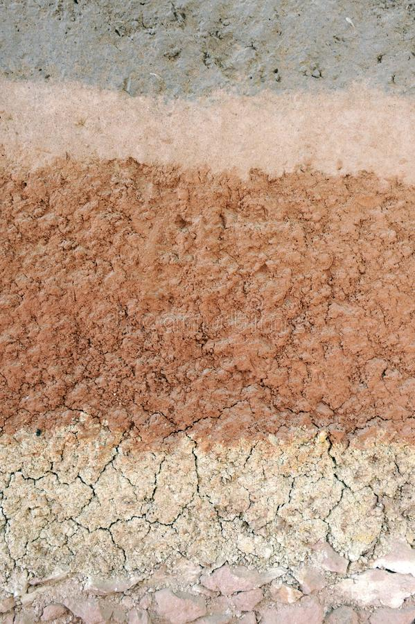 Soil layer royalty free stock photography