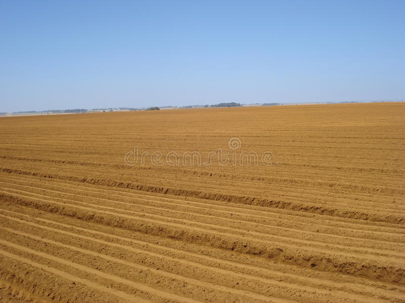 Soil Preparation royalty free stock images