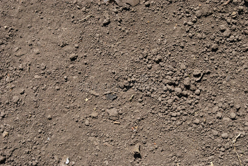 Download Soil Texture stock image. Image of fluffy, barren, empty - 10101093