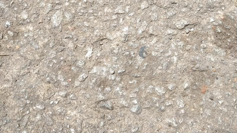 Soil texture in Batam Island royalty free stock photography