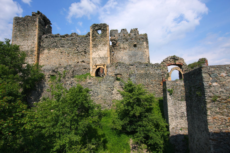 Soimos Medieval Fortress stock images
