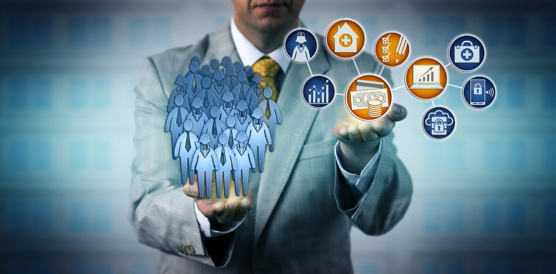 Soin d'Auditing Value-Based Health de directeur image libre de droits