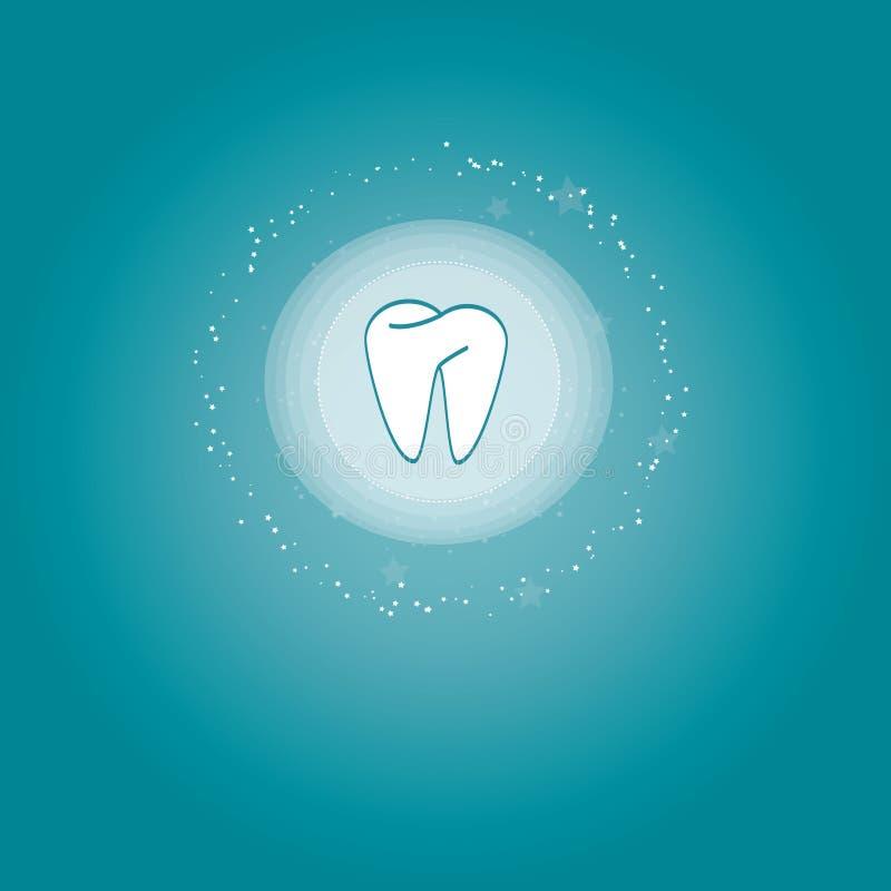 Soin dentaire illustration de vecteur