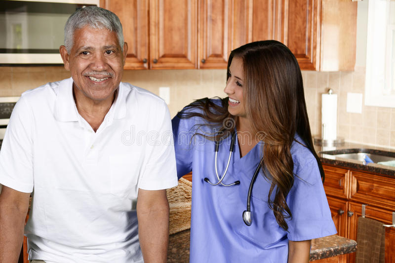 Soins de santé à domicile photographie stock