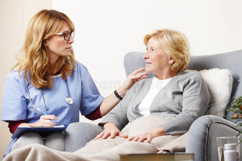 Soins de santé à la maison image libre de droits