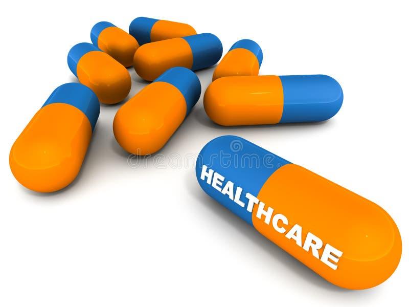 Soins de santé illustration libre de droits