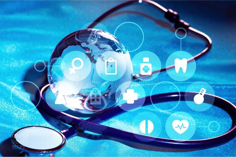 Soins de santé et médecine illustration de vecteur